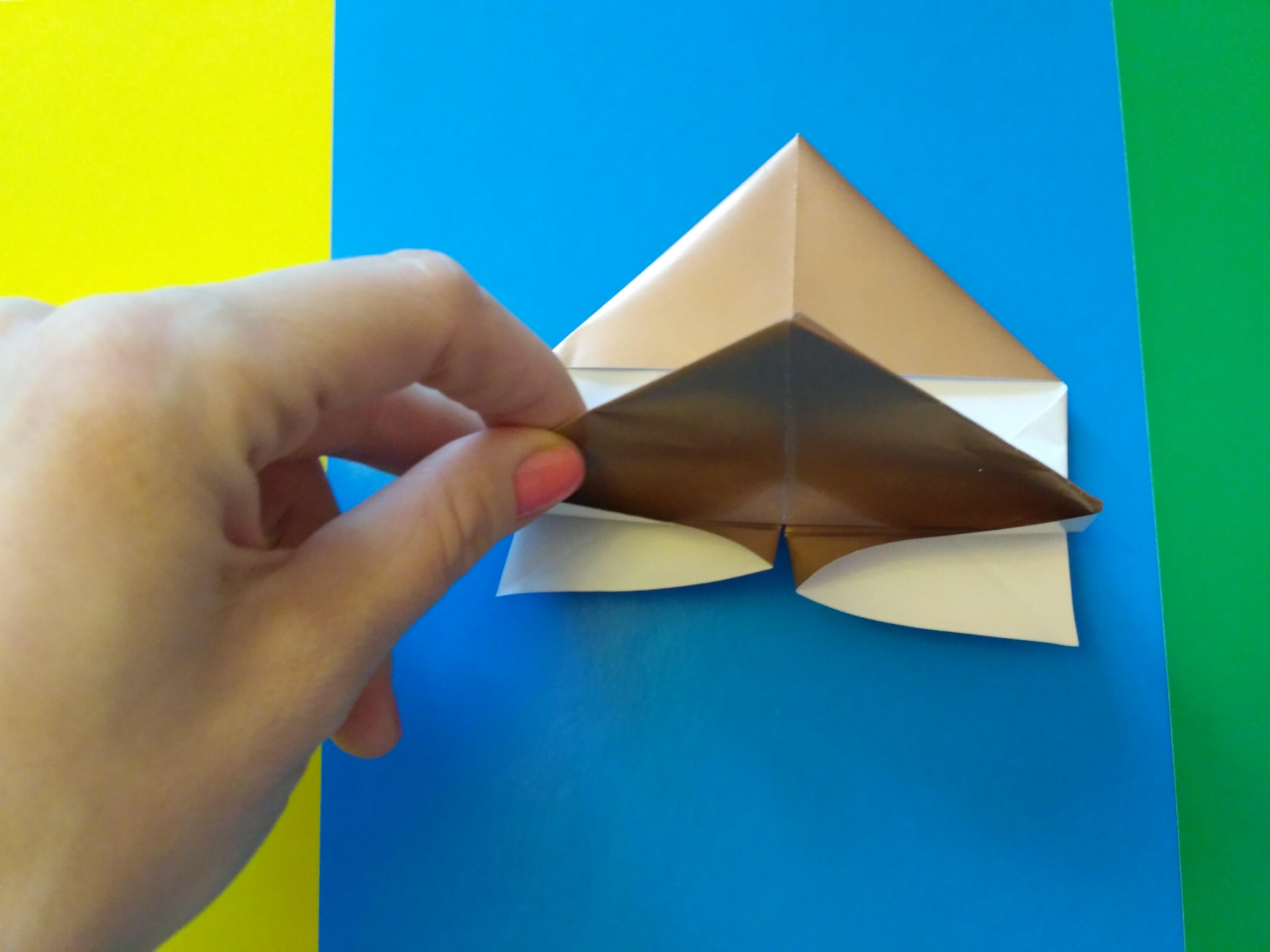 Складывание из бумаги. оригами. поделки