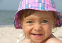 Ребёнок на солнце