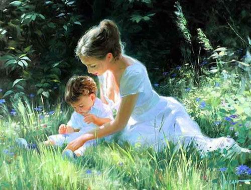 Рядом с мамой