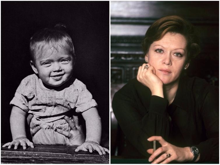 Алиса Фрейндлих в детстве