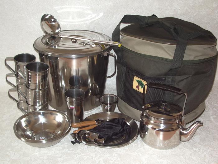 посуда в поход