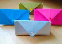 кошелек из бумаги