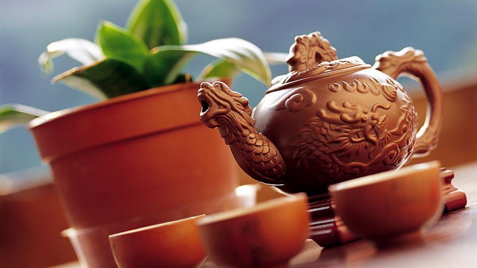посуда для чая в восточном стиле