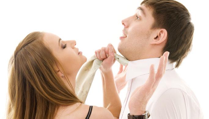 женщина и мужчина