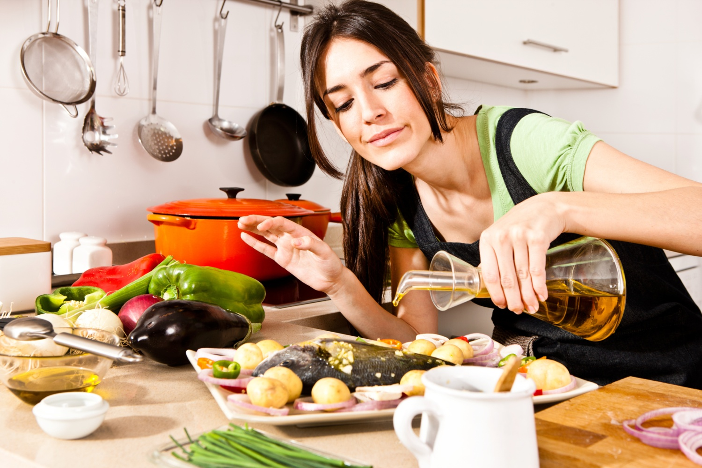 женщина должна готовить