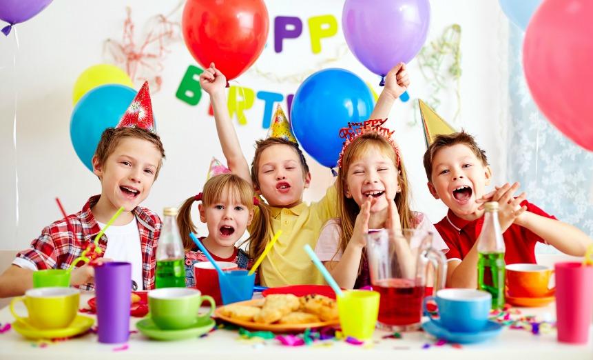 Детский праздник день рождения 4 года как разукрасить еду на детский праздник