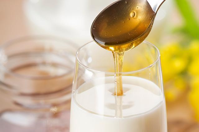 кефир и мед