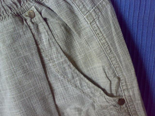 парусиновые штаны