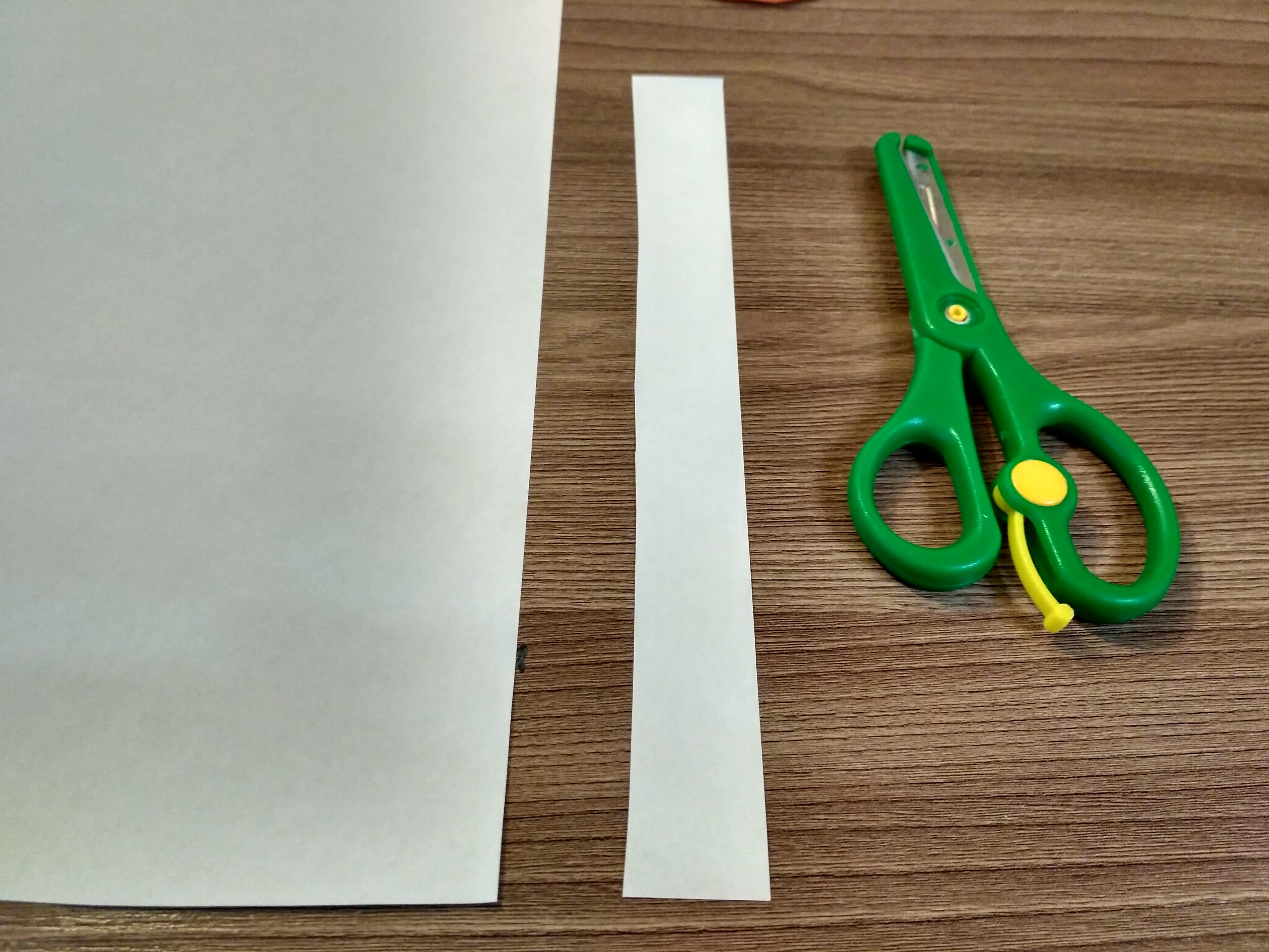 полоска из бумаги