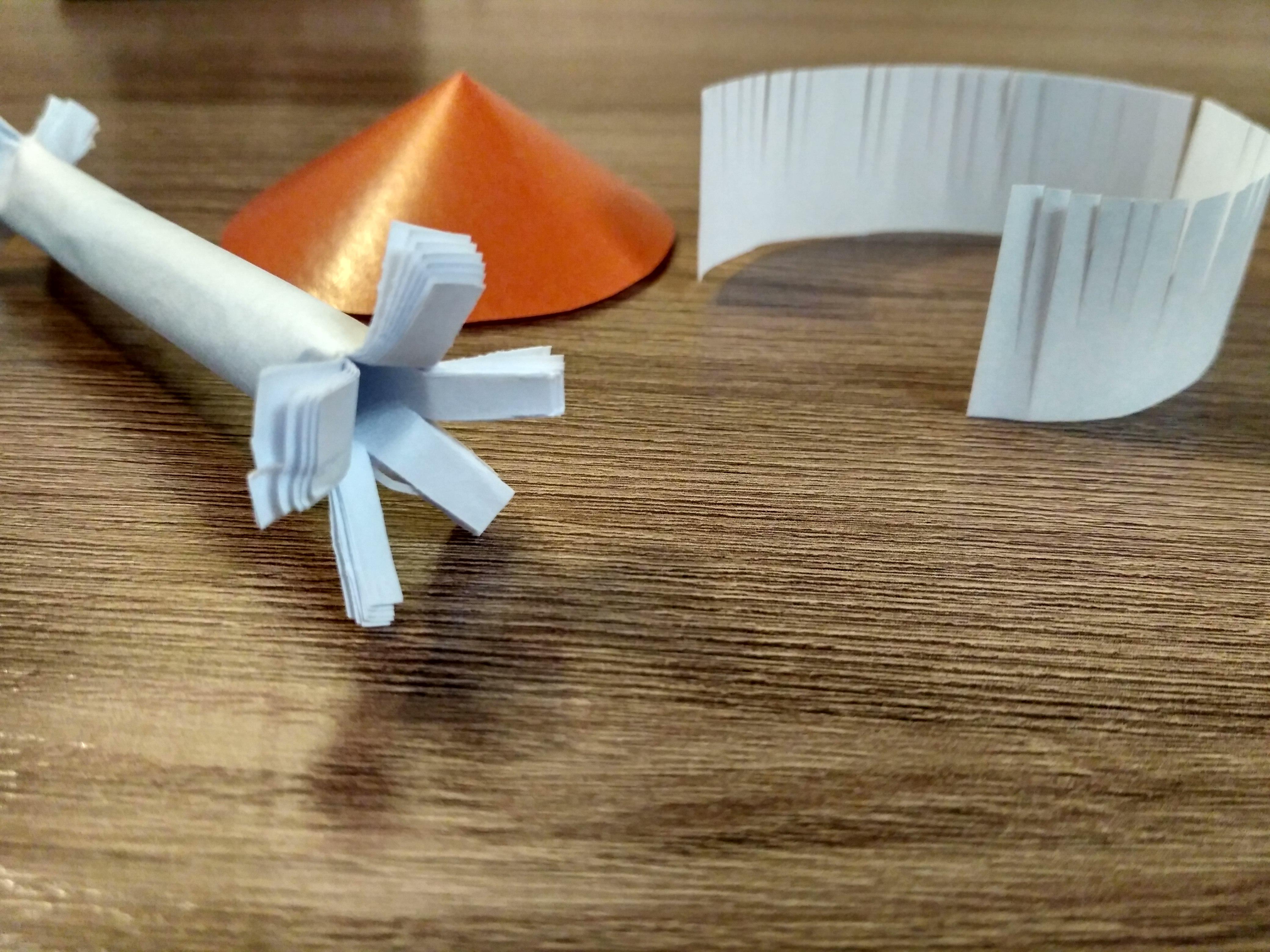 трубочка из бумаги