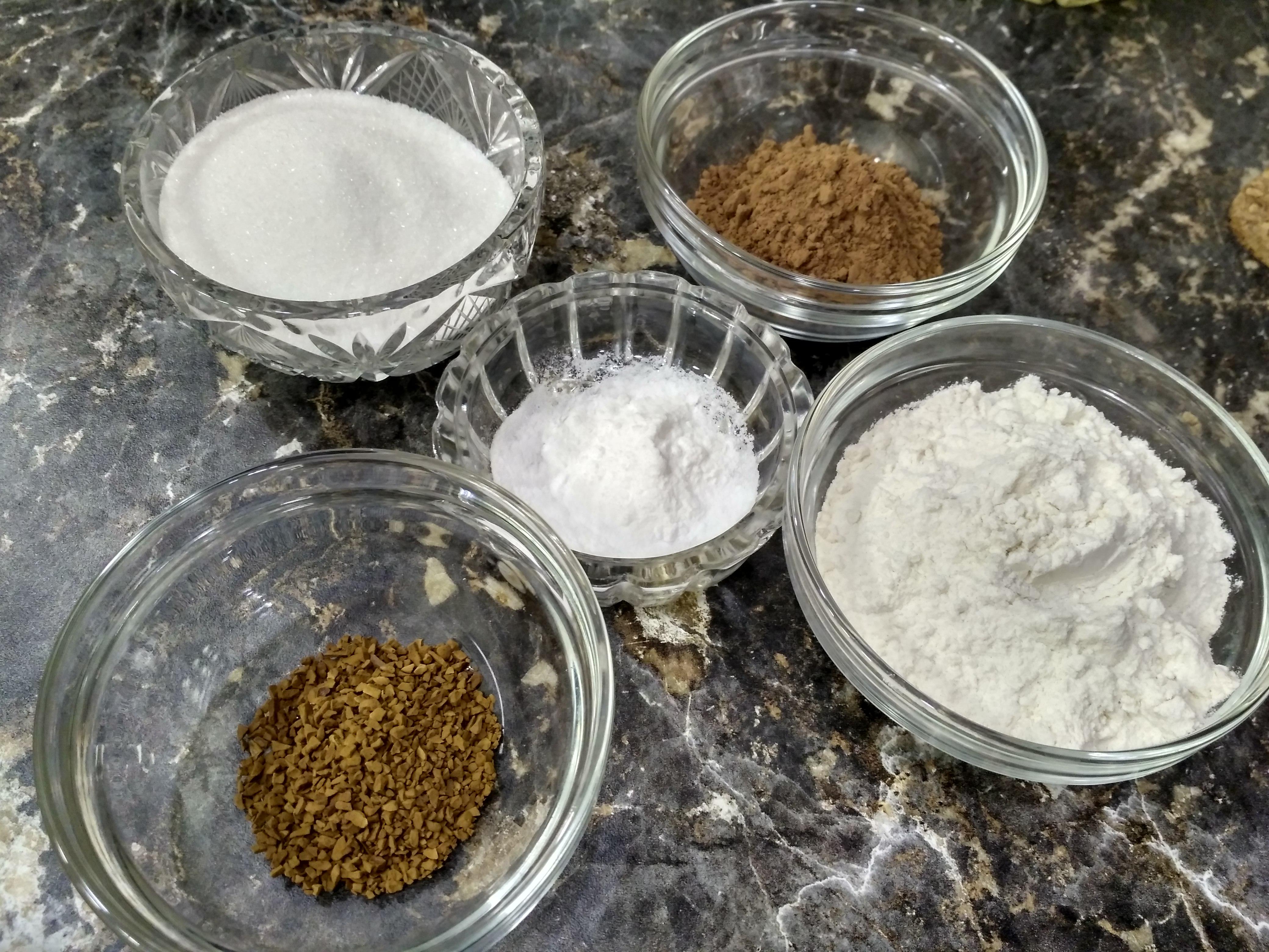 сухие ингредиенты
