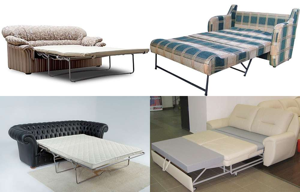 диванные раскладушки