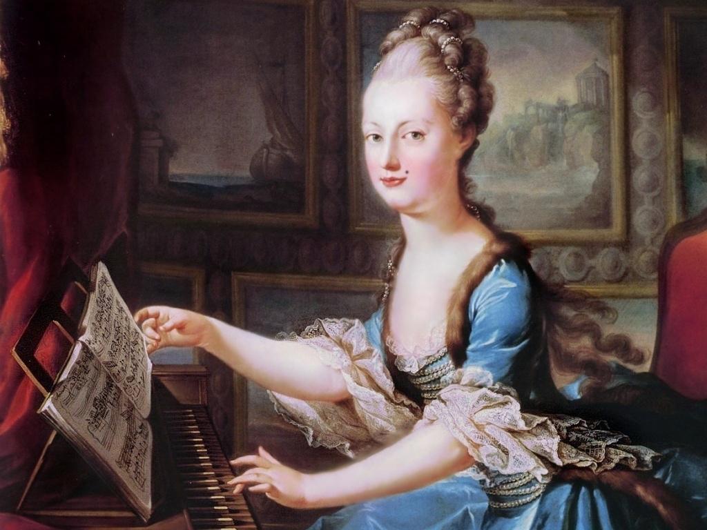 Женщина 18 век с мушкой давно в моде