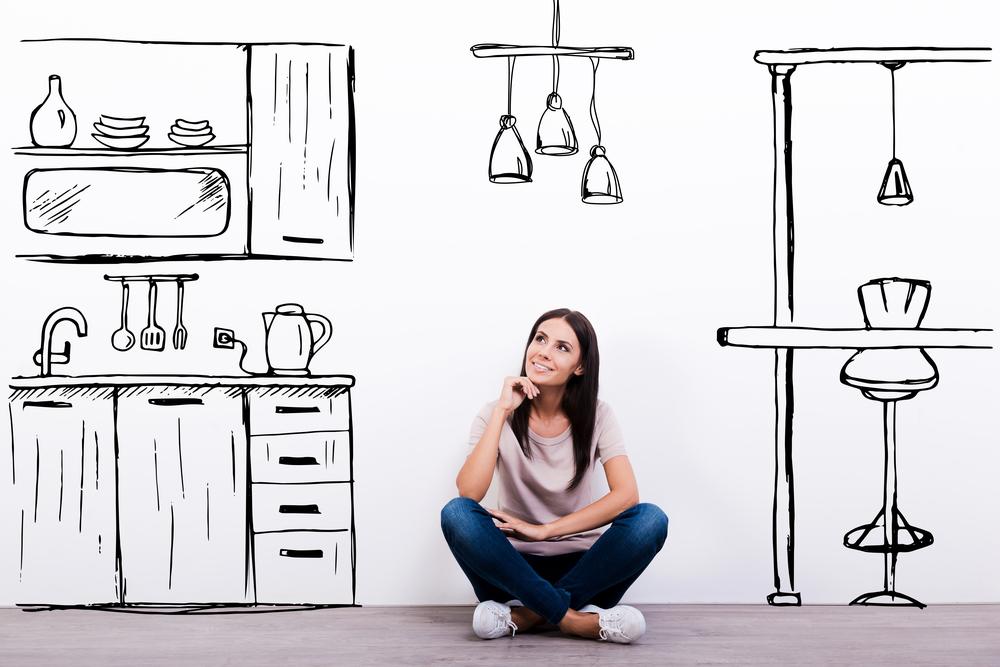 мысли о квартире материальны