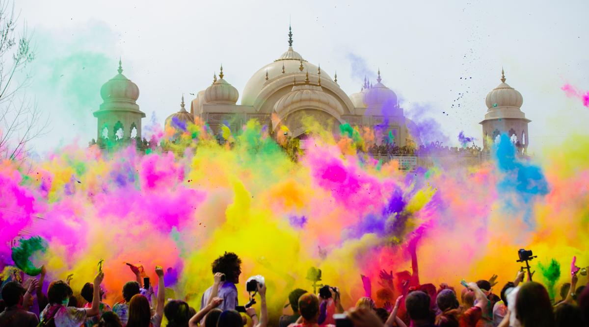 Индуистский фестиваль весны Холи