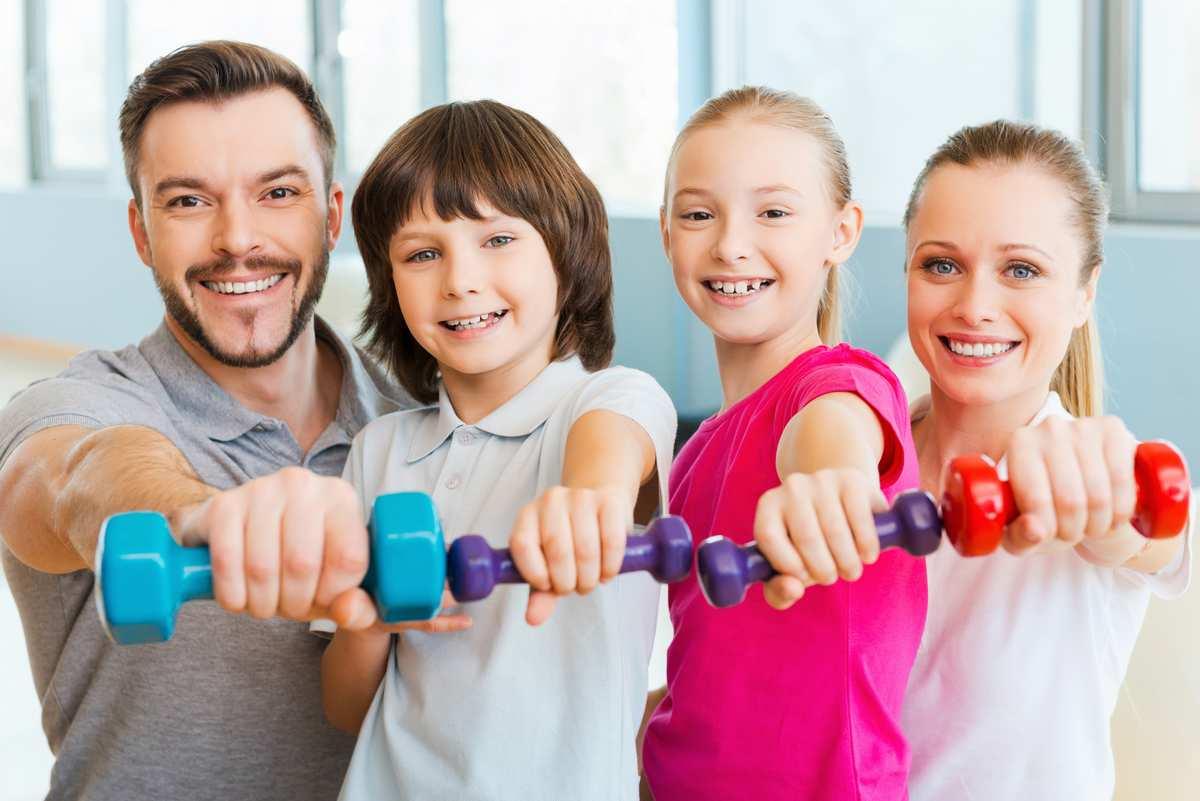 Родители приучают детей сохранять здоровье