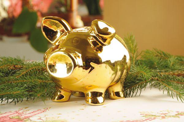 копилка свинка на новый год