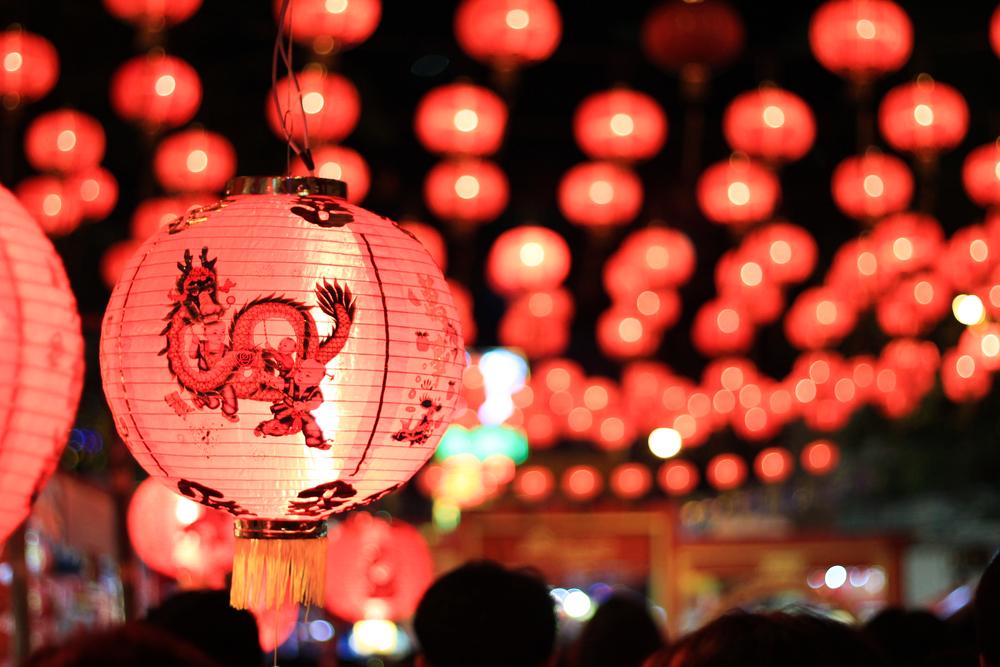Китайский шар на новый год