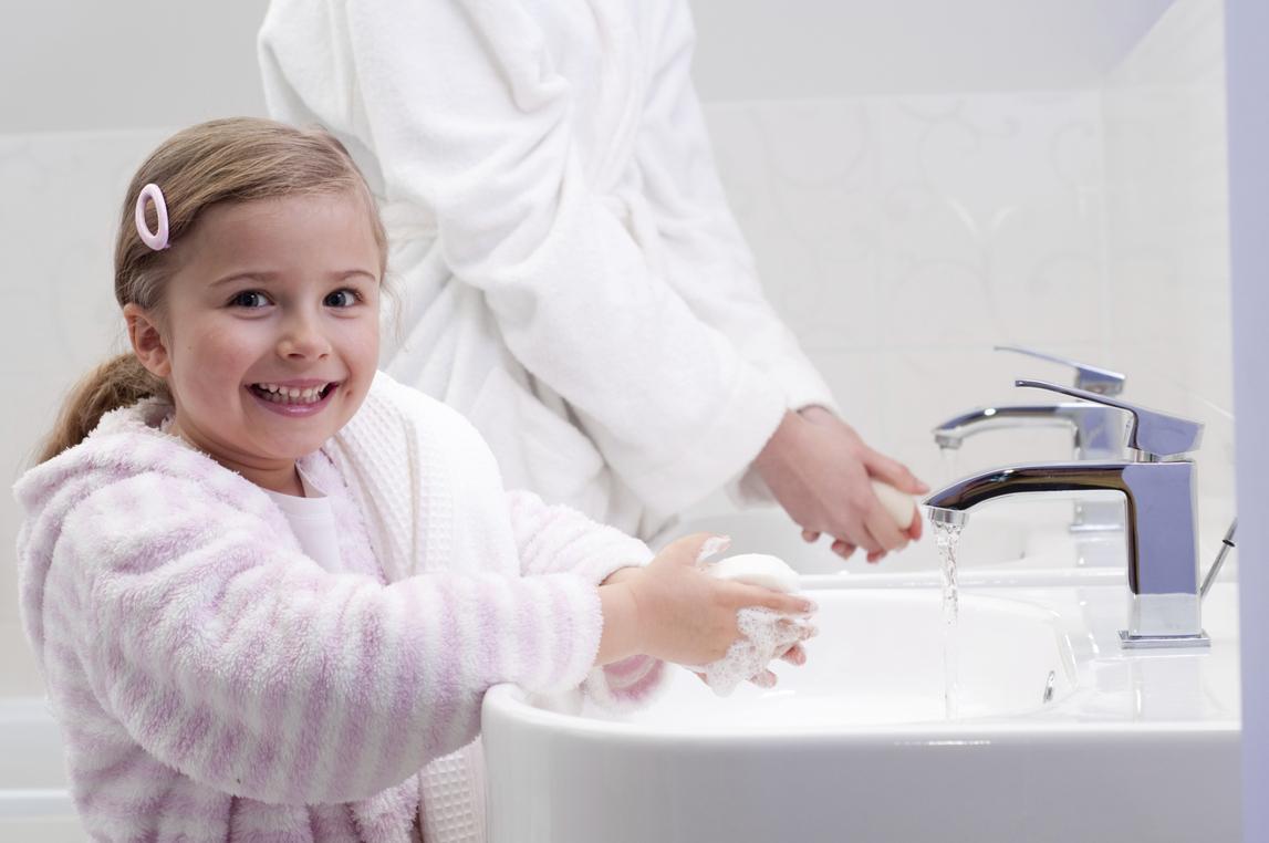 Водные процедуры по утрам