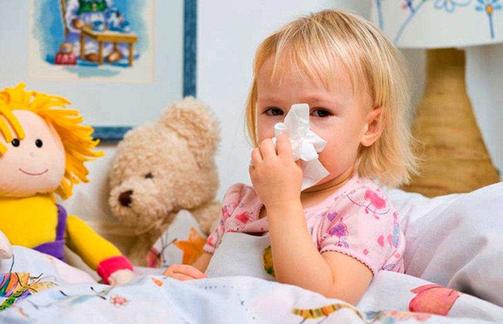 Высокая заболеваемость детей дошкольного возраста
