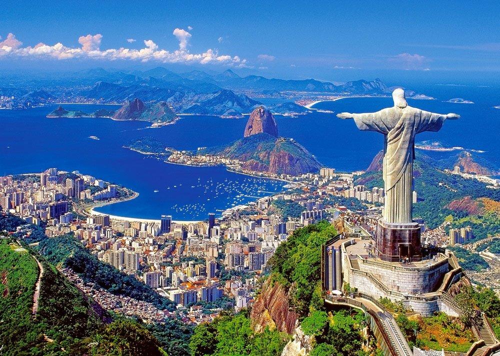 яркий город карнавалов Рио