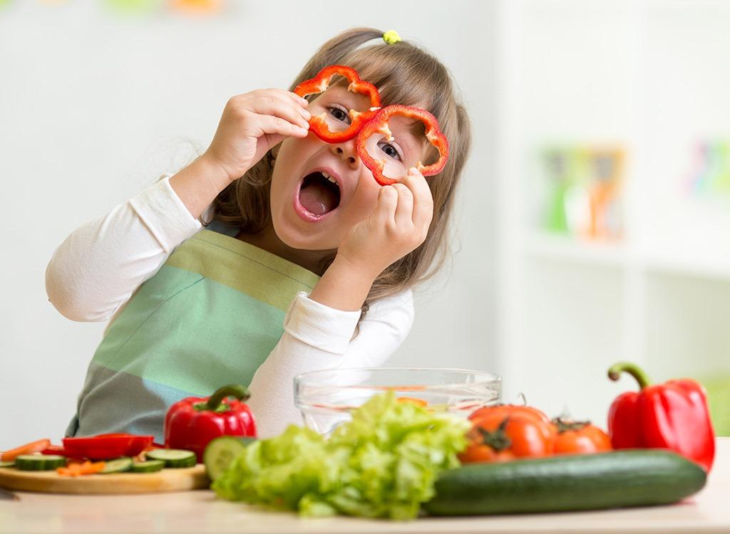 Сбалансированная еда для ребенка