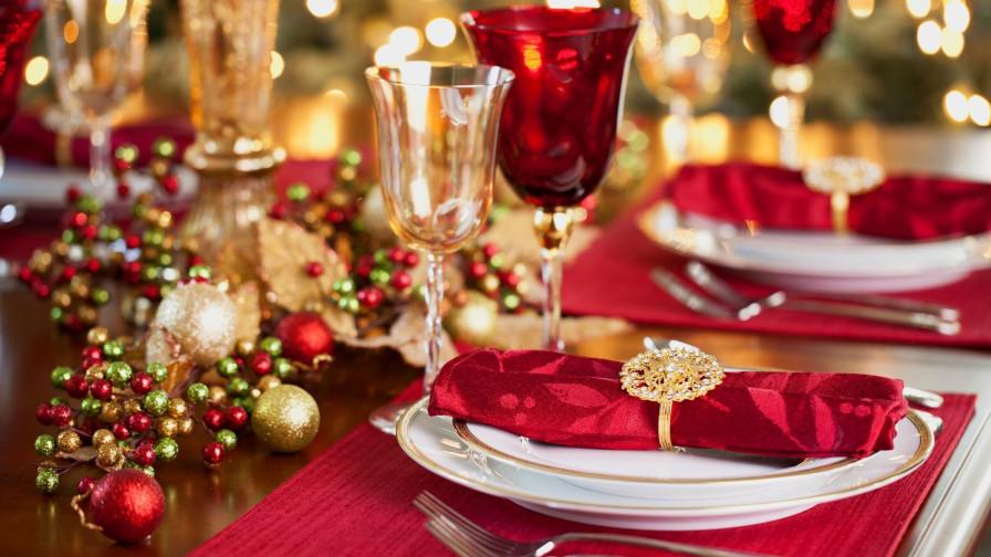сервируем стол на Новый год