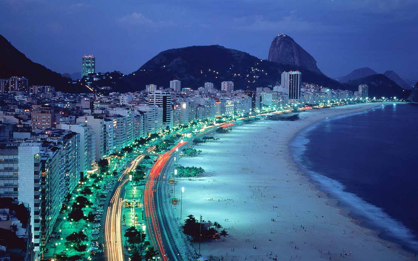 Рио - один их красивейших городов Южной Америки