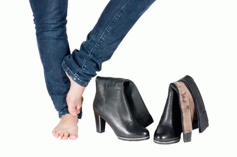 Некачественное крепление может привести к тому, что обувь быстро выйдет изстроя.