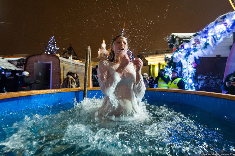 На Севере Москвы предлагается место для погружения в воду на Большом Садовом пруду