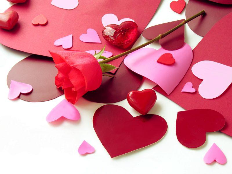 «валентинки» с таинственным посланием