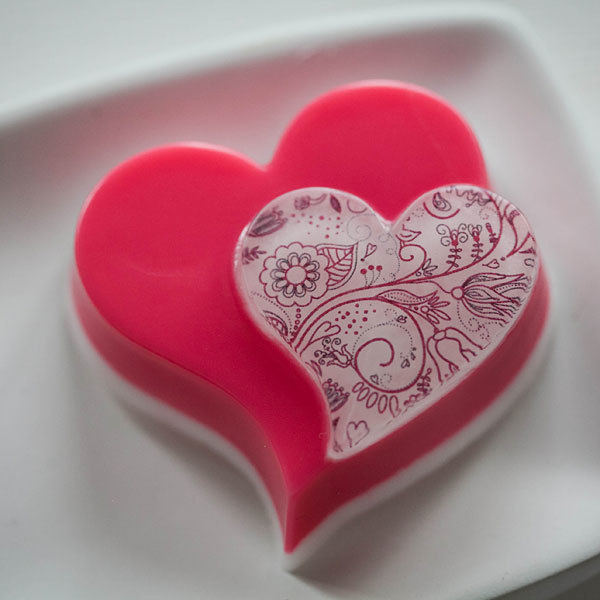 Душистое мыло в подарок на 14 февраля