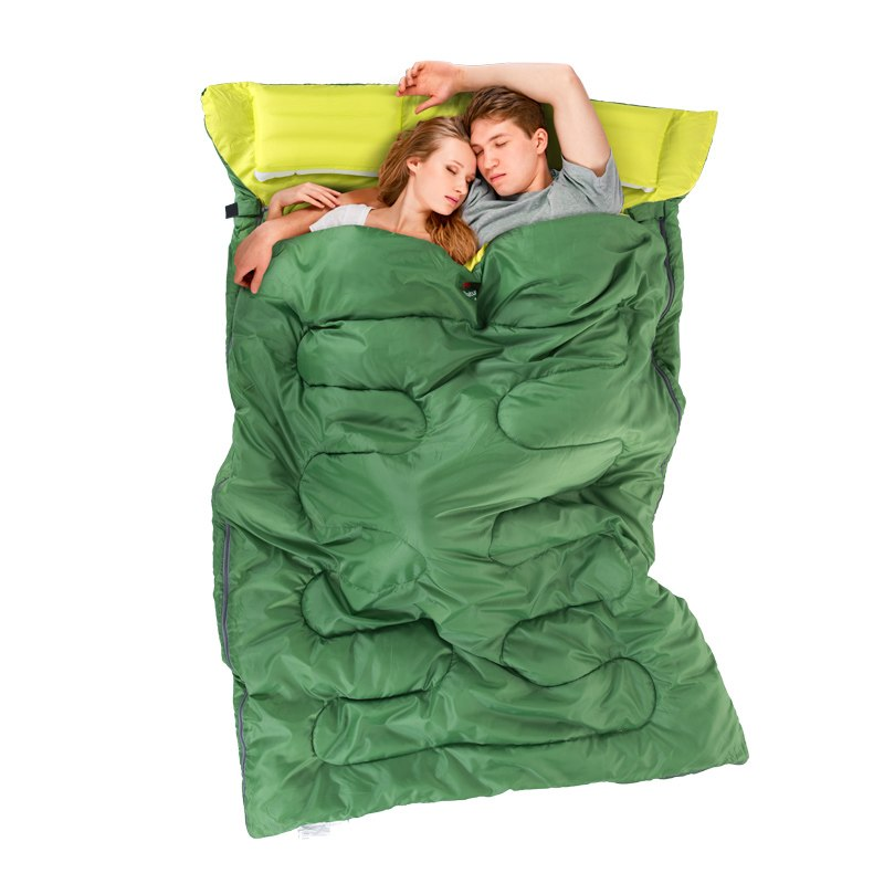 Большой спальный мешок в подарок на день влюбленных