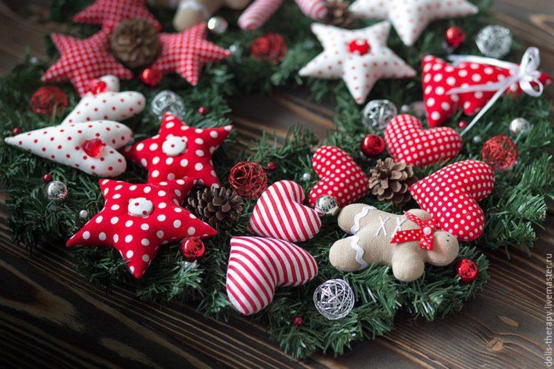Рождественский венок - как символ тепла и достатка
