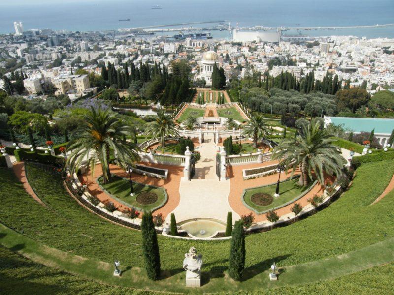 Бахайский, Гефсиманский сады и парки стоят того, чтобы на них посмотрели
