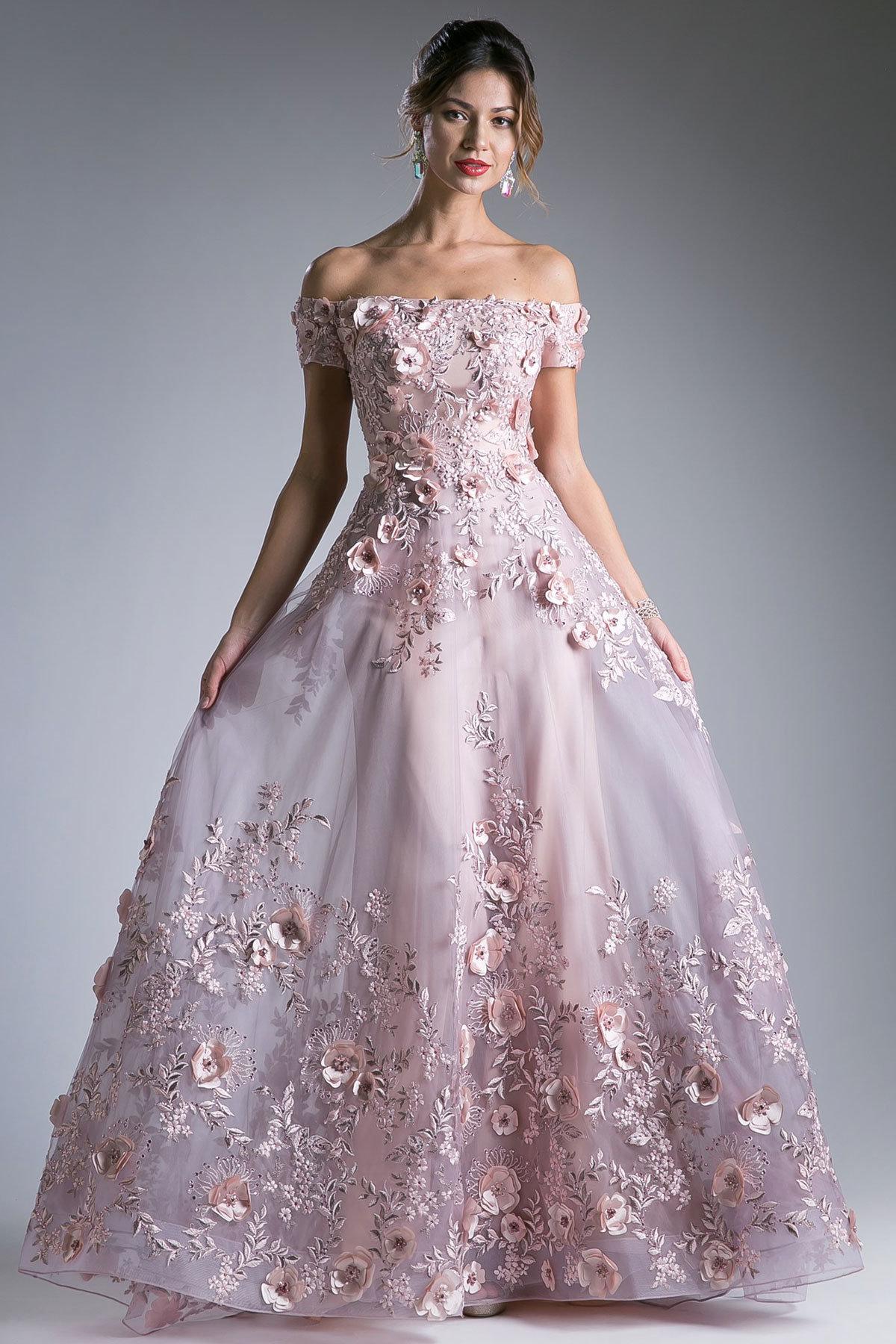 Бальное платье в картинках