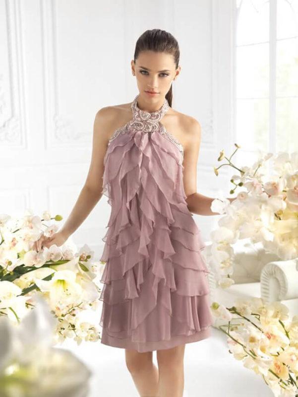 Пыльный кедр свет платья на выпускной