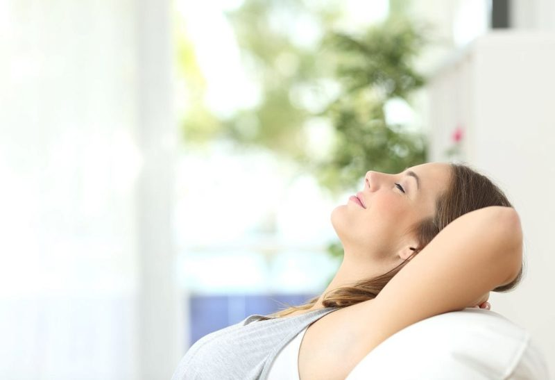 Каждой женщине свойственен свой способ расслабиться