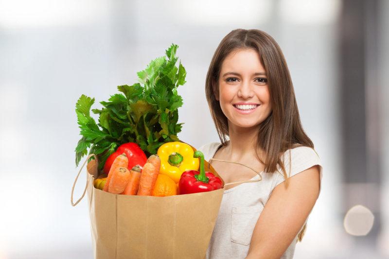 Овощи и фрукты улучшают пищеварение