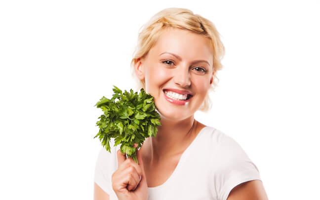 Зелень для женщин