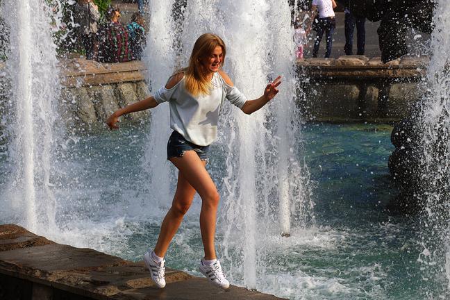 о целебных свойствах фонтана
