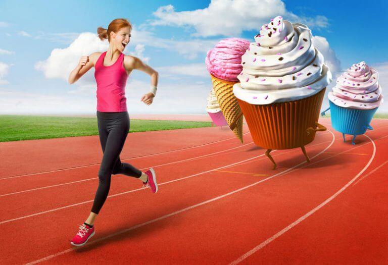 Если потребляемые калории не сжигаются