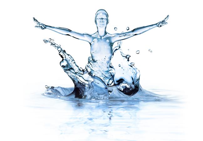 Человек состоит из воды на 80%