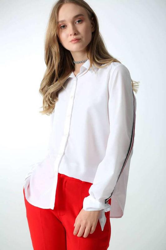 Кипельно - белая рубашка