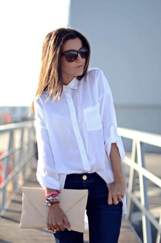 идеально с джинсами прямого силуэта