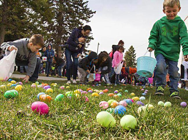 Весёлый праздник с поиском яиц