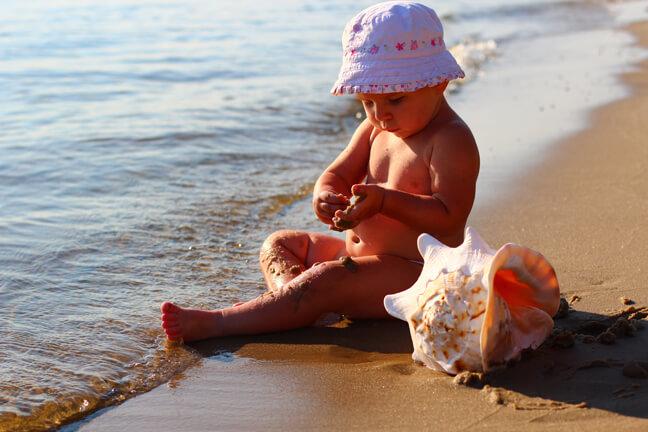 Ребенку пора на море