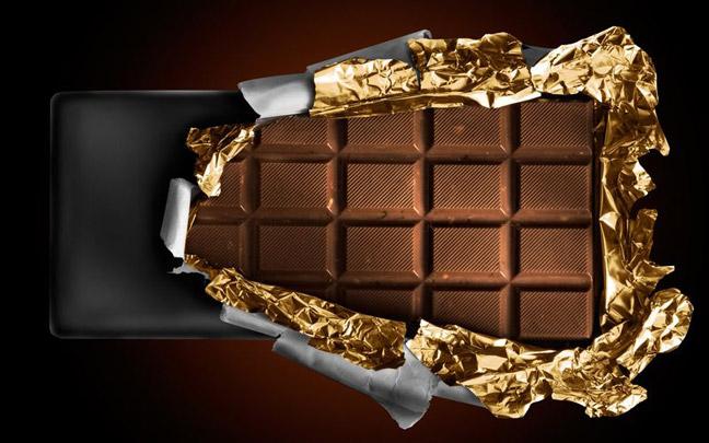 Постепенно плиточный шоколад вытеснил жидкий.