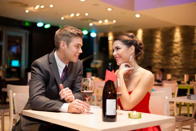 Когда мужчина приглашает на первое свидание