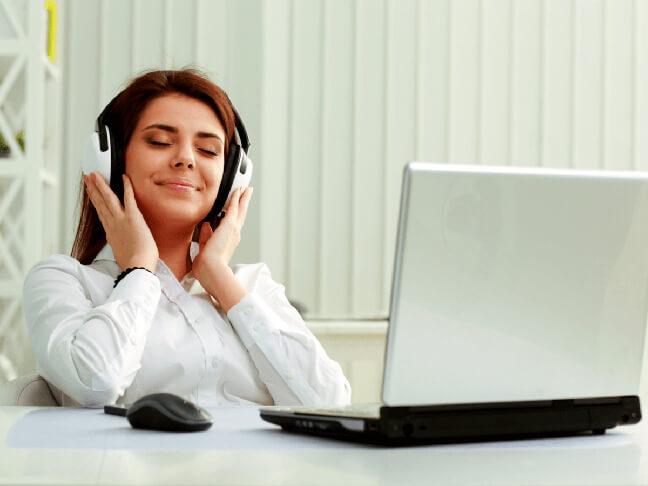 Попробуйте выполнять работу с любимой музыкой